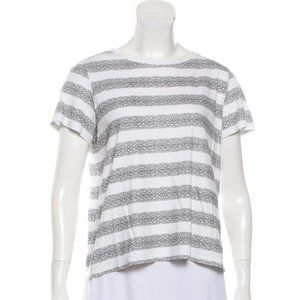 THEORY Short Sleeve Knit Top L